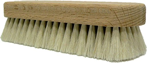Valentino Garemi Soft Cleaning Brush For Dusting Off Footwear & Clothing - Genuine Goat Hair Soft Bristles from Valentino Garemi