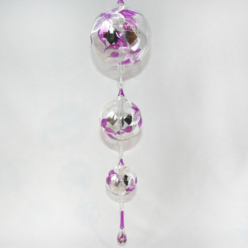 Radiometer Chain Crookes Lightmill Hand Painted Violet Sphere 2.36, 3.15, 4.33 Inch with Drop by LUPI Solar Radiometer and much more