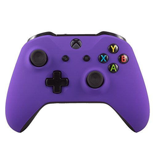 Xbox One S Wireless Bluetooth Controller For Microsoft Xbox One Custom Soft Touch Purple Microsoft Bluetooth Mic