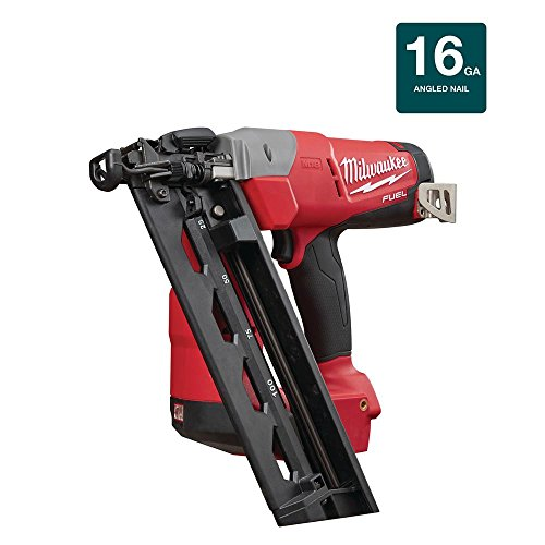 Milwaukee M18 FUEL 18-Volt Lithium-Ion Brushless Cordless 16-Gauge Angled Finish