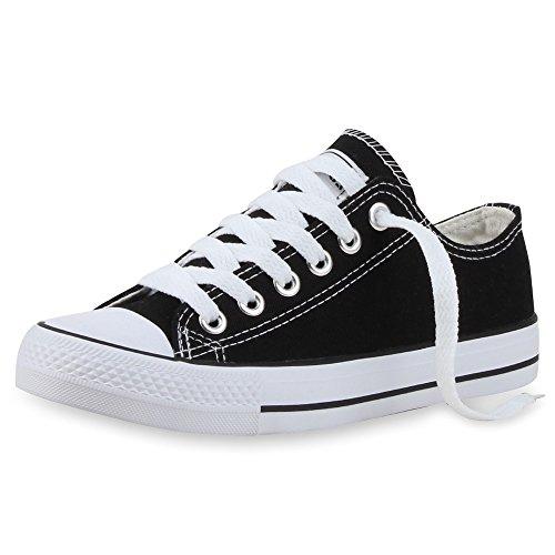 Japado , Sneakers Basses femme noir/blanc