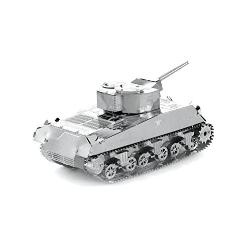 Fascinations Metal Earth Sherman Tank 3D Metal Model Kit