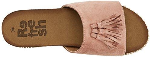 64348 Open Refresh Toe Nude Sandals Pink Women's aUUqnxgO