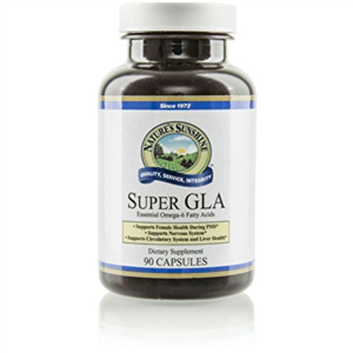 Nature's Sunshine Super GLA Oil Blend Dietary Supplement 90 softgel Capsules Each (Pack of 6) by Nature's Sunshine