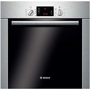 Bosch HBA63B252F - Horno (Horno eléctrico, 60 L, 3580 W, 60 L, Acero inoxidable, Giratorio, Sensor)