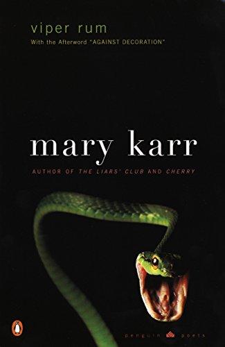 Viper Rum (Penguin Poets) [Karr, Mary] (Tapa Blanda)