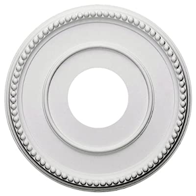 Ekena Millwork CM12BR 12 1/2-Inch OD x 3 7/8-Inch ID x 3/4-Inch Bradford Ceiling Medallion from Ekena Millwork