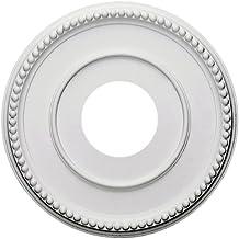 Ekena Millwork CM12BR 12 1/2-Inch OD x 3 7/8-Inch ID x 3/4-Inch Bradford Ceiling Medallion