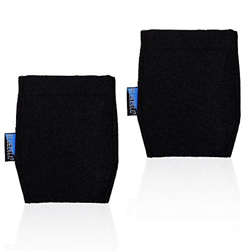 BCP 2-Piece Pocket Square Card Holder for Man