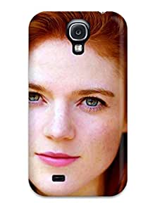 Anti-scratch And Shatterproof Women Redheads Phone Case For Galaxy S4/ High Quality Tpu Case