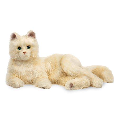 Joy For All Creamy White Cat (Plush White Cat)