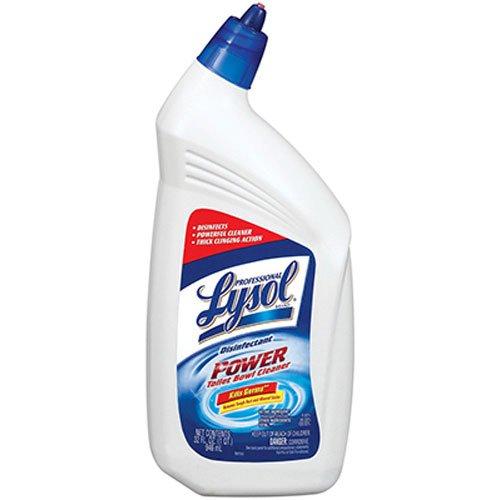 Reckitt BENCKISER PRO 20663 Professional Lysol Liquid Disinfectant Bowl Cleaner, 1-Quart