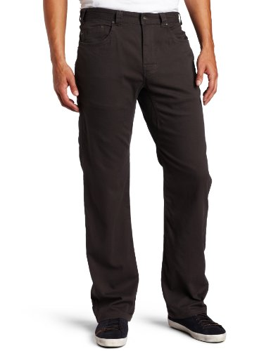 prAna Men's Bronson Pant,34Wx34L,Charcoal - Mens Suede Pants