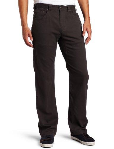 prAna Men's Bronson Pant, 28W, x, 34L,Charcoal
