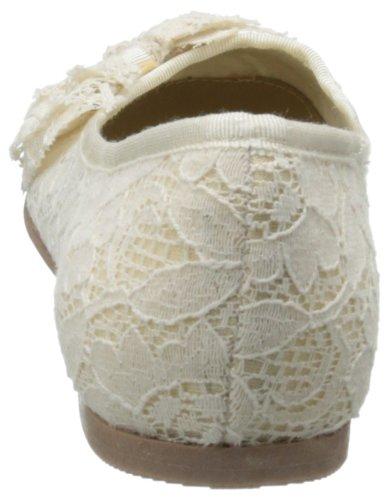 Cl Av Chinese Laundry Kvinna Gee Vina Balett Platt Beige Blommig Spets