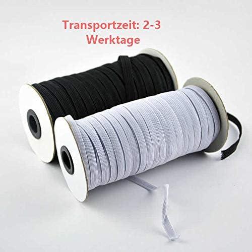 Gummiband elastisches Wäschegummi Gummilitze hohe Elastizität 7 mm 0,60€//m