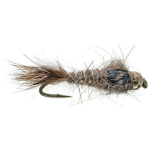 (Umpqua Gold Bead Hare's Ear 18 4 Pack)