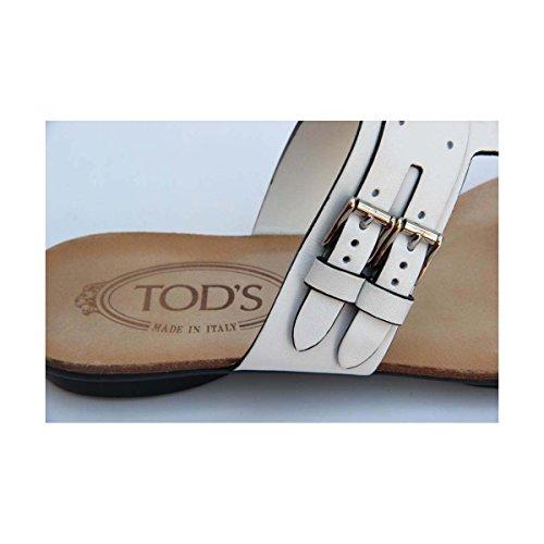 Tods ladies sandal flat XXW0KU0A170BR0B001 Tods White ladies 108WqE5wnt