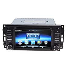Koolertron Car Video for 2007-2010 Chrysler Sebring & 2008-2010 Jeep Commander & 2009-2012 Jeep Compass & 2008-2012Jeep Grand Cherokee, 2007-2010 Jeep Wrangler/Unlimited, 2009DODGE RAM Pickup Trucks