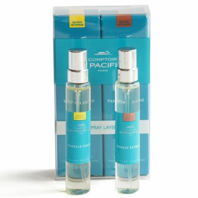 (Comptoir Sud Pacifique Vanille Travel Spray Layering Duo, Coco & Extreme, 0.6 fl.)