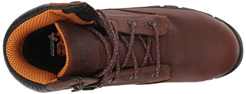 Timberland PRO Mens Helix 6 Waterproof Safety Toe Brown Full-grain Leather Ydhoqiua9h