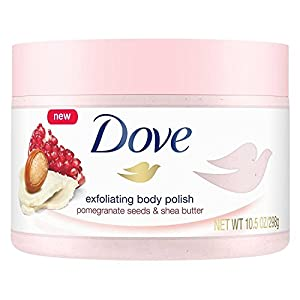 Dove Exfoliating Pomegranate and Shea Polish Body Scrub (10.5 Oz)
