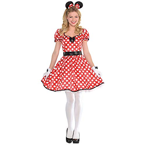 SUIT YOURSELF Sassy Minnie Mouse Halloween Costume for Women, Small, Includes Accessories]()