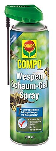 Compo Kontaktinsektizid Wespen Schaum-Gel Spray, grün