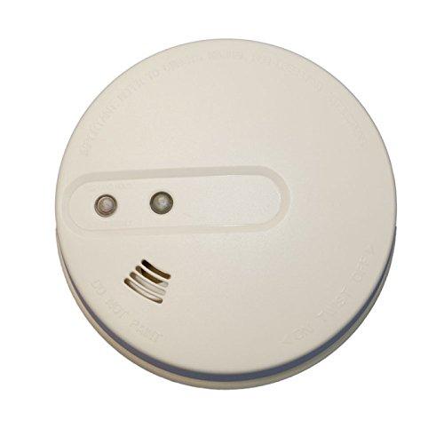Sicherheit Mania–Rauchmelder angeschlossen für Alarmanlage–Kompatibel mit alle Systeme Alarmanlage Radio 433MHz