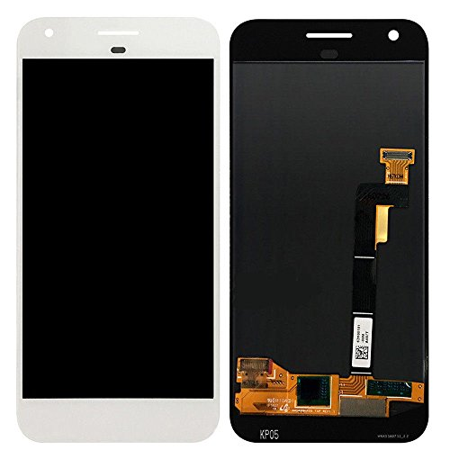 Kiker 5'' LCD Display Touch Screen Digitizer Assembly for Google Pixel (White) by Kiker Technology