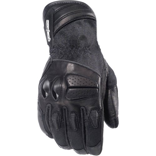 Cortech GX Air 3 Men's Mesh Street Bike Motorcycle Gloves - Black / X-Large