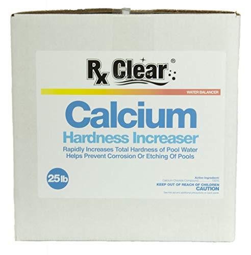 Rx Clear Calcium Plus   Granular Calcium Chloride   Hardness Increaser for Swimming Pools   25 Lbs ()