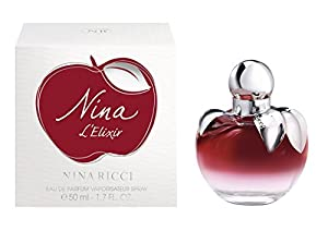 5. Nina L'Elixir Ricci Eau De Parfum Spray for Women, 1.7 Ounce