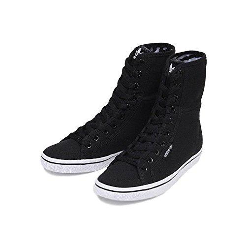 adidas Originals Honey HI Womens Trainers Black / Black / Running White