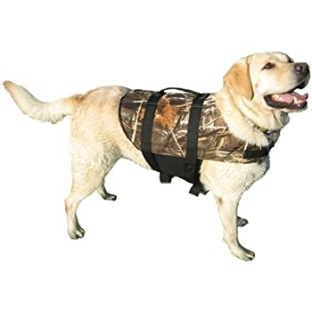 Paws Aboard Doggy Life Jacket Camo Small