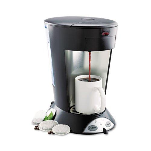 BUNN-My-Cafe-Pour-Over-Commercial-Grade-CoffeeTea-Pod-Brewer-Stainless-Steel-Black-MCP-DMi-EA