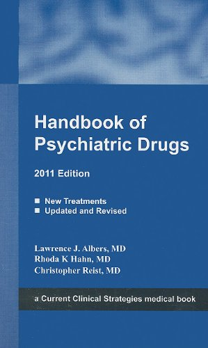 Handbook of Psychiatric Drugs, 2011 Edition