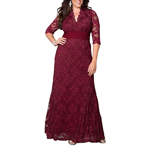 AbaoWedding-Womens-V-neck-Lace-Long-Mother-of-the-Bride-Dress-with-Sleeves