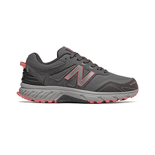 New Balance Women's 510v4 Cushioning Trail Running Shoe, Steel, 9 B US