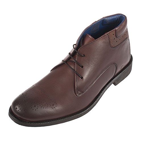 Chatham Chester, Stivaletti Uomo Red (Burgundy)