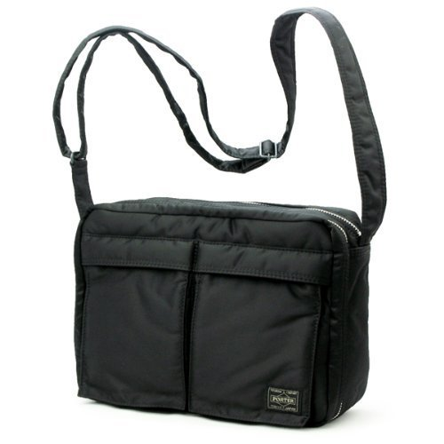 Porter Tanker   Shoulder Bag L 08810 Black   Yoshida Bag e208850647e2c