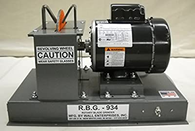 "RBG934 3/4 Hp Fast Grind Grinder with 9"" Fast Grind Wheel"