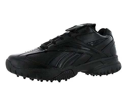 Reebok Men's Field Magistrate II Low Baseball Football Umpire Turf Shoes Black and Black (8.5)