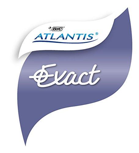 0.3 mm, Schachtel /à 12 St/ück BIC Kugelschreiber Atlantis Exact blau