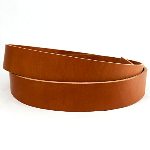 Springfield Leather Company's English Tan Bridle Strip, 1-1/2