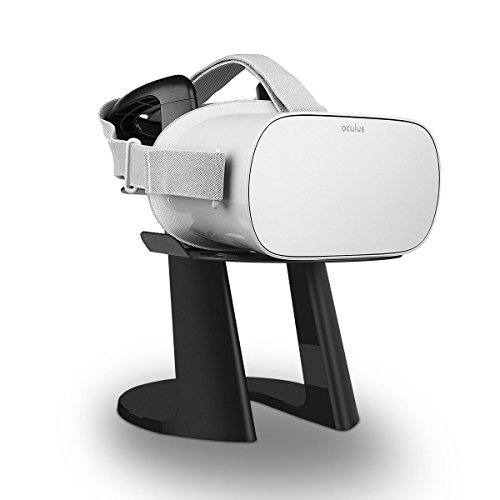 AFAITH VR Stand, Universal VR Display Mount and Headset Holder For Oculus Go 64GB/32GB/256GB, HTC Vive, Samsung Gear VR, SONY PlayStation PS VR by AFAITH