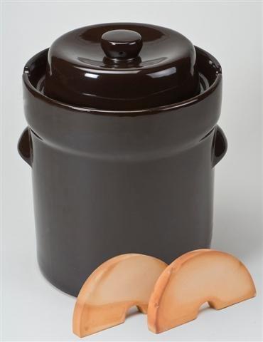 Unimet 3210 Fermentation Crock 10 litres Brown