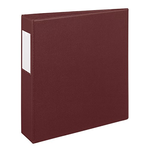 Avery Heavy-Duty Binder with 2-Inch One Touch EZD Ring, Maroon, 1 Binder (21003)