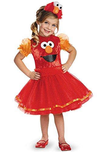 Deluxe Elmo Tutu Toddler Costume