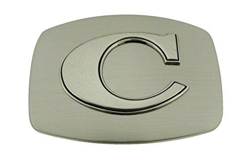 Greek Belt Buckles - Western Belt Buckle Initial C Letter American Alphabet Monogram Cowboy New Rodeo